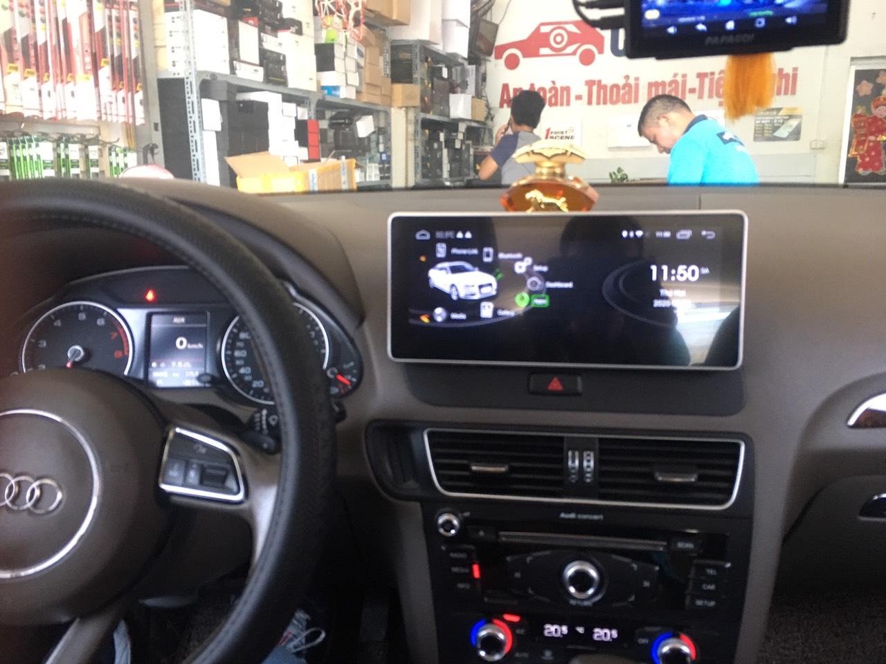 Lắp màn hình Audi Q5 android