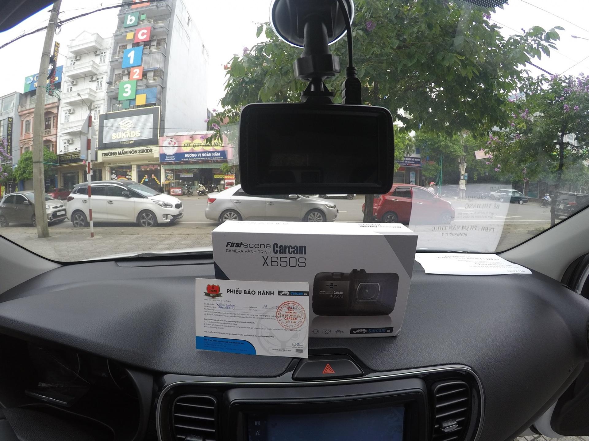 Camera hanh trinh X650s Carcam